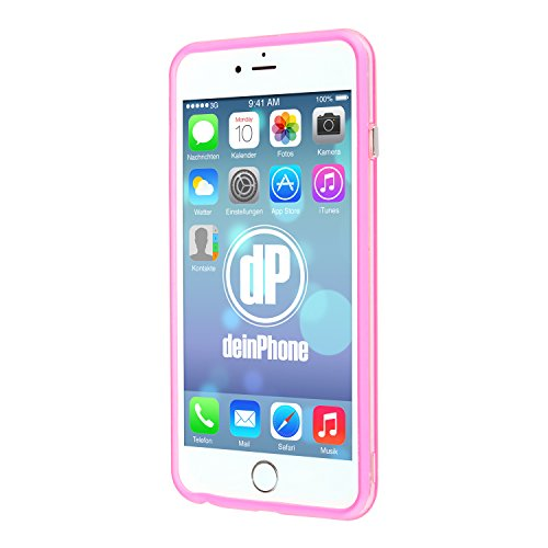 "deinPhone Étui pour iPhone 6 (4,7"") Bumper Rosa"