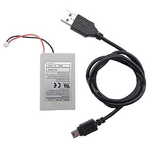 Playstation 3 PS3 Sixaxis Controller Gamepad Akku Batterie 1800mAh + Ladekabel USB – ToKa-Versand®