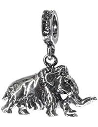 Bona Roca Charm Mammut vollplastisch con ojal, plata de ley, 4032