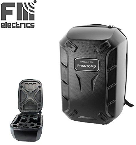 Hardshell Rucksack passend für DJI Phantom 3 Advanced und Professional, Mit Kantenschutz ! Von Fm-electrics