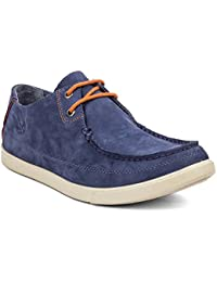 Woodland Casual Sneakers Leather Shoes For Men