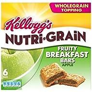 Nutri-Grain déjeuner Kellogg Bars Pomme (6x37g) - Paquet de 2