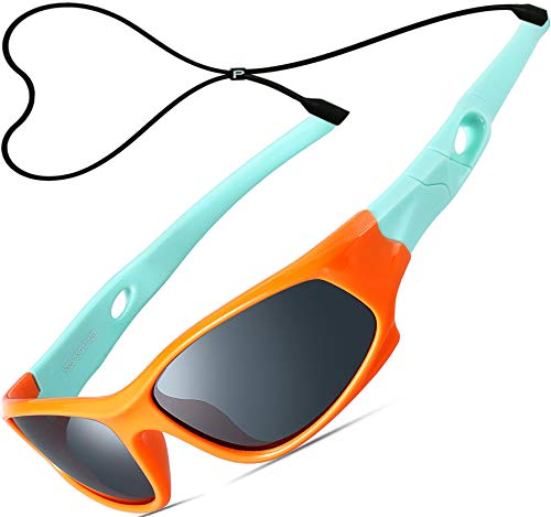 234dadccee6 ATTCL Unisex-niños Deportes Gafas De Sol Polarizado Uv400 Protección Súper  Ligero años 3-