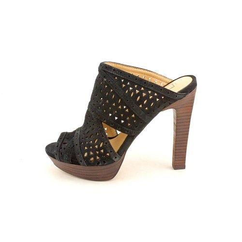 BCBG Max Azria Galinaa Femmes Daim Sandale Black