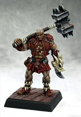 Pathfinder Miniatures: Shoanti Barbarian by Reaper by Reaper