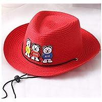 AGOPO Berretto da Bambino Cappello a Forma di Cappello da Baseball per  Bambini Cappello da Cowboy 63406a62a6fb