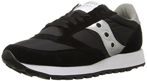 SAUCONY ORIGINALS  Saucony Jazz Original Women, Sneakers basses femme Noir (Black/Silver)