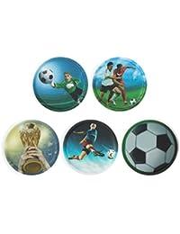 Ergobag Accessoires Klettbilder-Set 5-tlg Kletties Fußball 017 fußball
