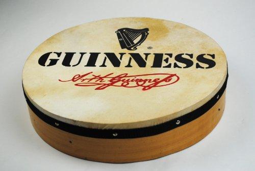 """16\"""" Irisch Irländisch Keltisch Guinness Bodhran Trommel mit Schläger"""