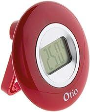 Thermomètre intérieur à écran LCD - Blanc - Otio