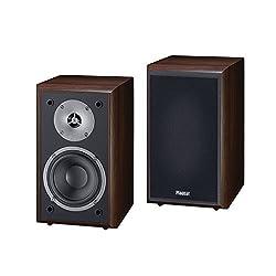 Magnat Monitor Supreme 102 I 1 Paar Regallautsprecher mit hoher Klangqualität I Passiv-Lautsprecherbox für anspruchsvollen HiFi-Sound – Mocca