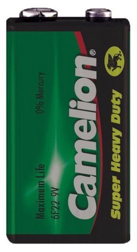 Camelion Super Heavy Duty Batterie 9V Block 6F22 6f22 Super Heavy Duty Batterien