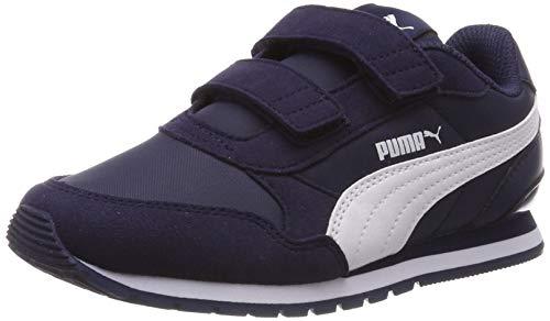 Puma Unisex-Kinder St Runner V2 Nl V Ps Sneaker, Blau (Peacoat-Puma White), 29 EU