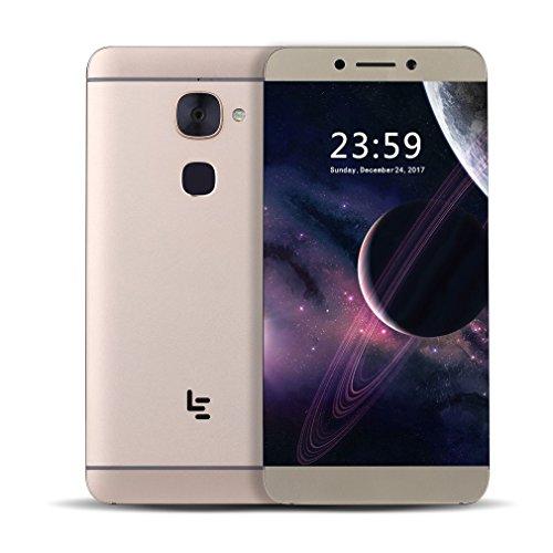 LeEco X626 - Android Smartphone Helio X20 Deca-core, 4G + 32G,5.5 Pollici FHD, 1920*1080 403ppi,8MP + 21MPFotocamera posteriore,Dual Na-no SIM Card - Oro