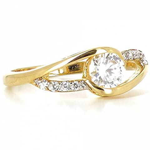 ISADY - Sienna Gold - Damen-Ring - 18 Karat (750)