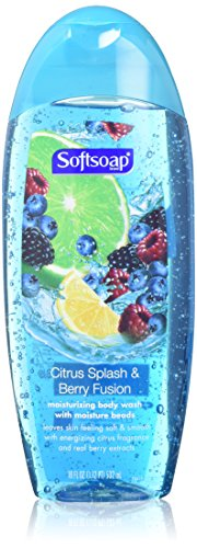 Softsoap Moisturizing Body Wash - Citrus Splash & Berry Fusion - Net Wt. 18 FL OZ (532 mL) Per Bottle - by Softsoap