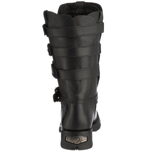 New Rock 7604-S1, Boots homme Noir