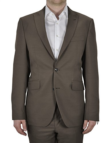Michaelax-Fashion-Trade - Blazer - Uni - Manches Longues - Homme Braun (24)