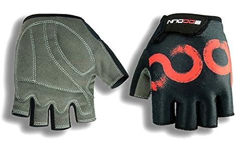 kungken Praktische Professional Radfahren MTB Fahrrad Reiten Half Finger Handschuh