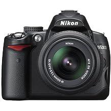 Nikon D5000 - Cámara Réflex Digital 12.3 MP (Objetivo AF-S DX VR 18-55mm f/3.5-5.6G)