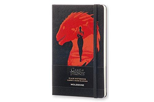 Moleskine LEGTQP062 - Cuaderno diseño Juego de Tronos, liso, edición