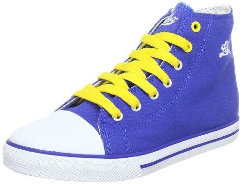Lico 180256, Baskets mode mixte enfant Bleu (Blau/Weiss)