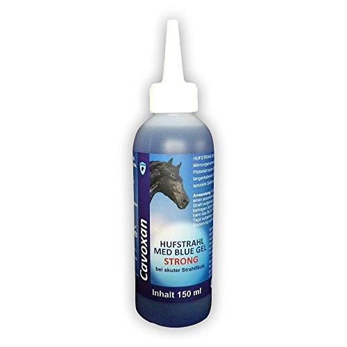 Cavoxan Hufstrahl MED Blue Gel Strong 150 ml Strahlfäule Strahlpflege -