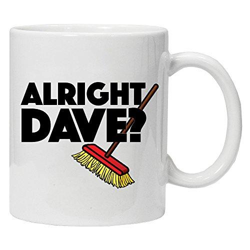 Official Alright Dave? Trigger's Broom Mug Gift