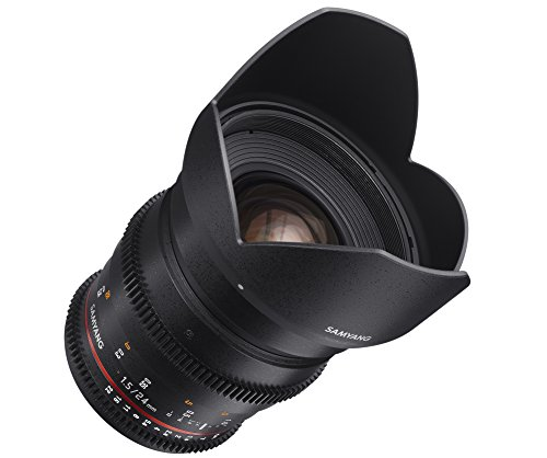 Buy Samyang 24 mm T1.5 VDSLR Manual Focus Video Lens for Nikon DSLR Cameras Review