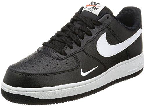 Nike Air Force 1, Zapatillas de Gimnasia Hombre, Negro (Black/White/White), 41 EU