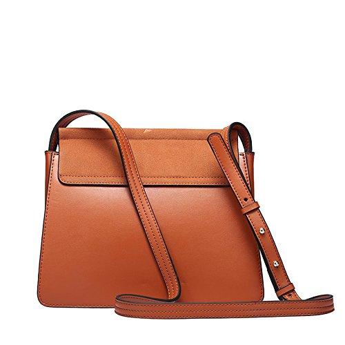 HT Messenger Bag, Borsa a secchiello donna Gray