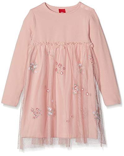 s.Oliver Baby-Mädchen Kleid 59.811.82.5020, Rosa (Rose 4259), 74
