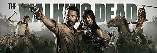 The Walking Dead Poster Banner (158cm x 53cm) + Ü-Poster