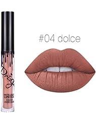 Demarkt Lip Gloss Beauty Waterproof Liquid Lipstick Beauty Lip Gloss Long Lasting Matte A04 1PC