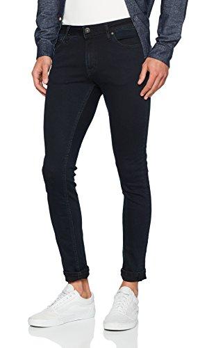 JACK & JONES Herren Skinny Jeans Jjiliam Jjoriginal AM 647 50SPS Lid Noos, Schwarz (Black Denim), W34/L34 (Dunkle Jeans-hose)