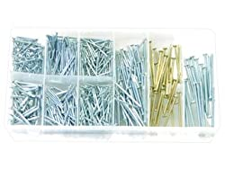 Rolson 61293 Nail Assortment - 550 Pieces
