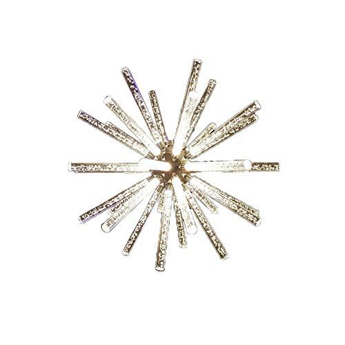 SELMAL LED Pendant Light, LED Star Chandelier Ceiling Licht mit Glas Lampenschirm für Schlafzimmer Living Room Restaurant Bar Kitchen,WhiteLight (Star Pendant Light)