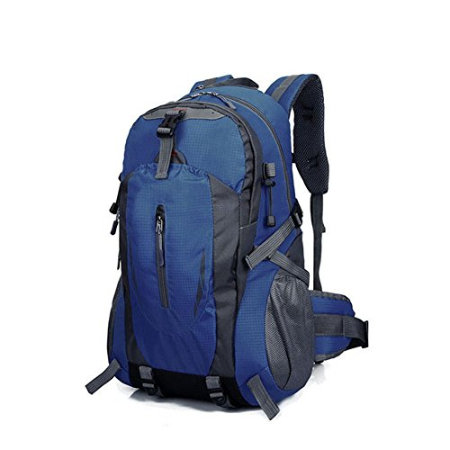 Hrph New Fashion Outdoor Sport Nylon Rucksäcke Frauen MenTravel Rucksack Bergsteigen Wandern Taschen Dark Blue