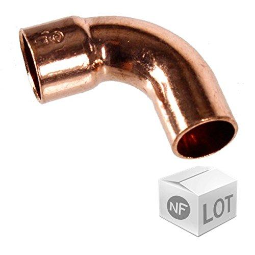 Raccord cuivre courbe 90° M.F (C1) - Diamètre 16 mm