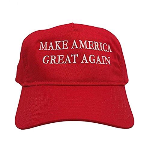 Preisvergleich Produktbild Krause & Sohn Make America Great Again Cap Donald Trump Mottoparty Amerika President Fasching Politiker (Basecap)