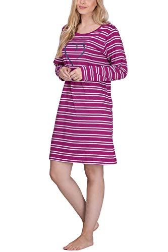 Moonline - camisón Corto Mujer 100% algodón