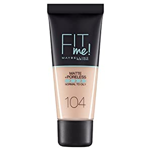 Maybelline Fit Me Matte and Poreless Foundation - 30 ml