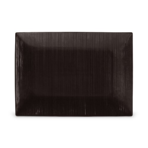 Mikasa Ridge (Mikasa Stone Ridge Chocolate 15-Inch Rectangular Platter)
