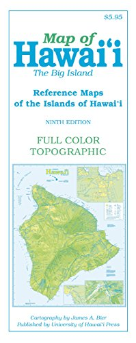 Map of Hawai'i: The Big Island (Reference Maps of the Islands of Hawai'i)