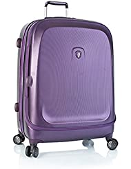 ... 50% SALE ... PREMIUM DESIGNER Hartschalen Koffer - Heys Crown Smart Gateway Lila - Trolley mit 4 Rollen Gross