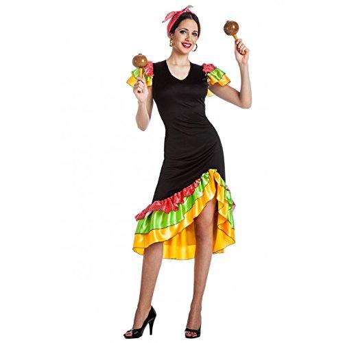 DISFRAZ RUMBERA TALLA S- (Kostüm Rumbera)