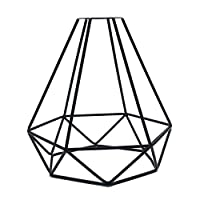 Baifeng Geometric Pendant Metal Lamp Guard Retro Vintage Ceiling Light Shade Iron Cage