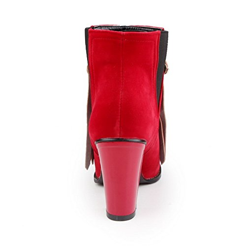 Adee, Botas De Mujer Rojas