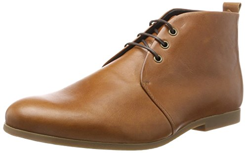 Hazel Honey (Royal RepubliQ Herren Cast Derby Midcut W/Honey Sole Base Derbys, Gold (Hazel Brown), 42 EU)