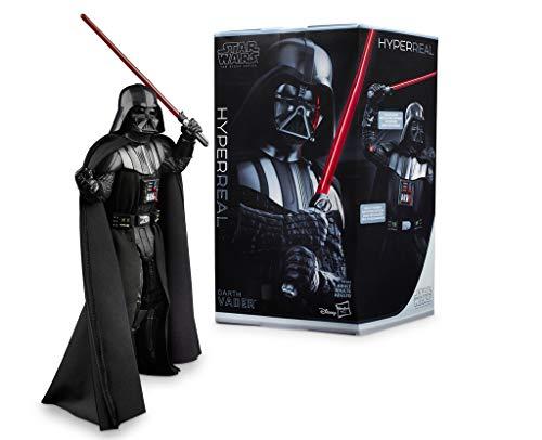 Kostüm Darth Schlägt Imperium Zurück Vader - Star Wars The Black Series E4 Hyperreal Darth Vader, 20 cm. große Actionfigur